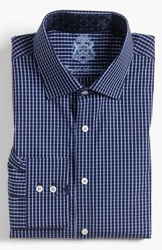 English Laundry Trim Fit Dress Shirt available at #Nordstrom
