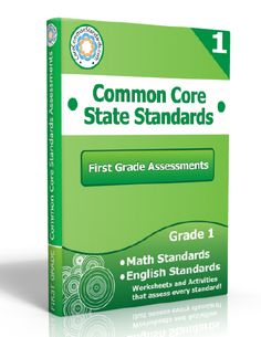 Description: First Grade Assessment Workbook, 1st Grade Assessment Workbook, First Grade Common Core Assessment Workbook, 1st Grade Common C...