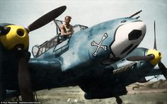 Paul Reynolds, from Birmingham, colourised the photos with a digital pen. He said: 'The on...