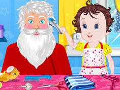Play Online Baby Lisi Santa Claus  Baby Fun Game for free at bestonlinekidsgames.com - Best Online Baby Lisi Santa Claus  Playing in full screen, NO ADS.