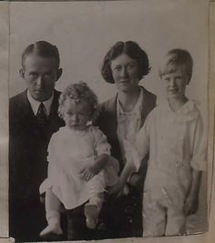Dickinson Bishop and Family 1921    Survivor of the Titanic disaster.