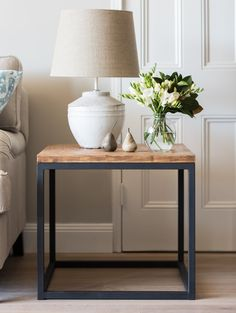 Parquetry Side Table