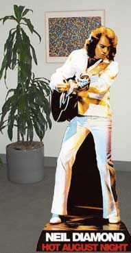 Strange Art Projects: How to Make Your Own Neil Diamond Life-Sized Standup