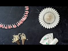 youtube DIY tutorial: (AWESOME) 4 DIY decorations that'll make your summer party stand out
