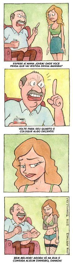 Satirinhas | Tirinhas, quadrinhos, arte e diversão | Page 2
