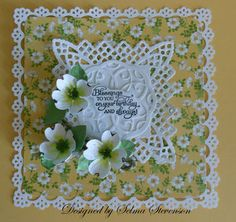 Selma's Stamping Corner and Floral Designs: What is your favorite Susan's Garden Die