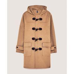 DUFFEL COAT - NEW IN-WOMAN | ZARA India via Polyvore featuring outerwear, coats and beige coat