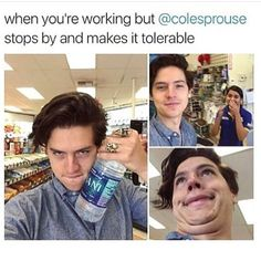 Cole Sprouse Memes, Riverdale Jughead Funny Photos |