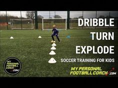 Multiple outcomes in this simple but very effective soccer training drill suitable for Can be also used at other ages and for all abilities. U8 Soccer Drills, Soccer Practice Drills, Soccer Training Drills, Soccer Drills For Kids, Soccer Workouts, Football Drills, Soccer Skills, Soccer Coaching, Youth Soccer