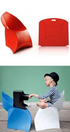 Flux - easy folding chair for kids