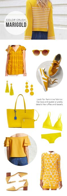 @TheSteeleMaiden - Spring Color Trend: Marigold Yellow