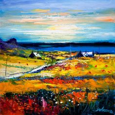 Contemporary Fine Art Print Autumn Light at Kilchattan, Isle of Colonsay by the artist John Lowrie Morrison Autumn Lights, Buy Art Online, Bottle Painting, Art Auction, Mixed Media Art, Home Art, Fine Art Prints, Abstract Art, Images