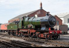 3440 Great Western Railway Steam 4-4-0 at Toddington, United Kingdom by Graham Williams. A view at the Glocs Warks Spring Gala in 2009. GWR Number 3440 City of Truro was designed by G.J.Churchward and built in 1903. It is one of the contenders for the first steam locomotive to travel over 100 miles per hour. Its maximum speed has been the subject of much debate over the years.