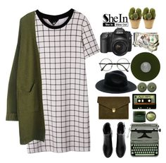 """""""Untitled #192"""" by wheniwasdreamingg ❤ liked on Polyvore featuring mode, H&M, J.Lindeberg, Michele, Nearly Natural, Hermès, Aveda, women's clothing, women's fashion et women"""