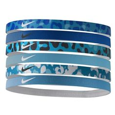 Nike Sport Headbands ($15) ❤ liked on Polyvore featuring accessories, hair accessories, hair band headband, stretch headbands, hair bands accessories, stretchy headbands et nike