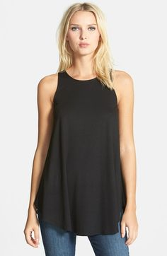 Eileen Fisher Sleeveless Jersey Tunic (Regular & Petite) available at #Nordstrom