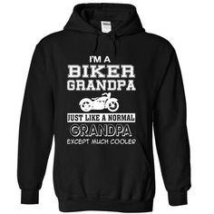 Awesome Tee I Am Biker Grandpa  Shirts & Tees