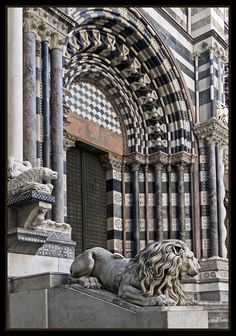 Cathedral of San Lorenzo, Genoa - Italy