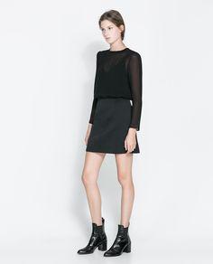 ZARA - WOMAN - COMBINATION DRESS