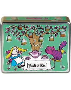 Derrière la Porte - Alice in wonderland tea box