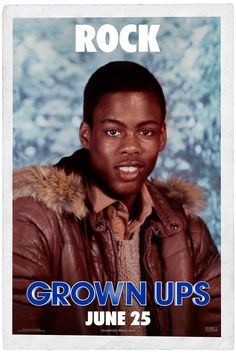 Grown Ups , starring Adam Sandler, Salma Hayek, Kevin James, Chris Rock. After their high school basketball coach passes away, five good friends and former teammates reunite for a Fourth of July holiday weekend. #Comedy