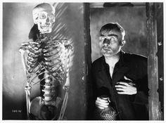 Dwight Frye in Frankenstein