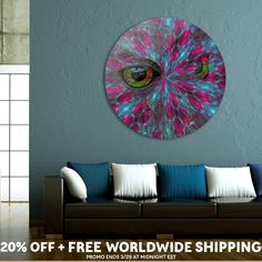Discover «Owls Carnival», Limited Edition Disk Print by Diana  Coatu - From $99 - Curioos