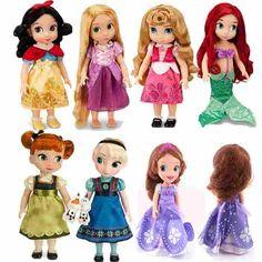 プリンセスアニメーターシャロン人形プリンセスソフィア白雪姫アリエルラプンツェルmeridaシンデレラオーロラ美人姫人形女の子のため