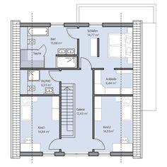 Haus Erdmnann – Dachgeschoss