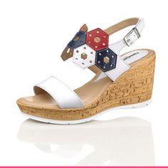 Fantastisk behaglige sandaler med kilehæl fra KLiNGEL Matcha, Wedges, Shoes, Fashion, Damask, Moda, Zapatos, Shoes Outlet, Fashion Styles