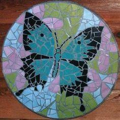 Resultado de imagen para butterfly mosaic art