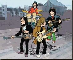 There's never enough cartoons of The Beatles