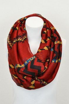 Aztec Scarf (available in 3 colors)