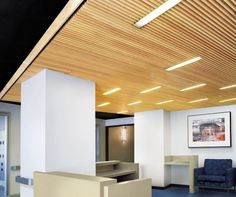 Armstrong WoodWorks Ceilings can feature a variety of different standard wood veneer options. Watch this video to learn about the differences in the collections.