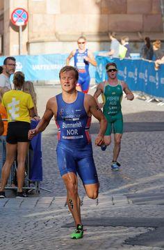 Kristian Blummenfelt, Norwegian triathlete and Olympic gold medallist Olympic Triathlon, Triathlon Club, 2020 Summer Olympics, Tokyo Olympics, Fisher, 10km Run, Norwegian People, Half Ironman, Sports