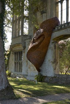 Site Specific Art | Natural Structures | Sudeley Castle | Laura Ellen Bacon