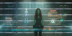 Marvel's Guardians Of The Galaxy..Gamora (Zoe Saldana).