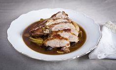 Kitchenette — Krůtí pečené na estragonu a jablkách Kitchenette, Main Dishes, Clean Eating, Pork, Tasty, Beef, Cooking, Recipes, Inspiration