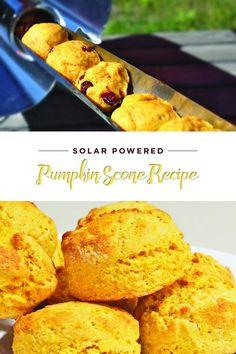 132f804a03e Delicious pumpkin scones from the GoSun solar cooker Solar Cooker