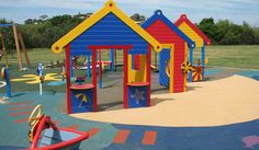 Customised themed playground equipment from The Play Works