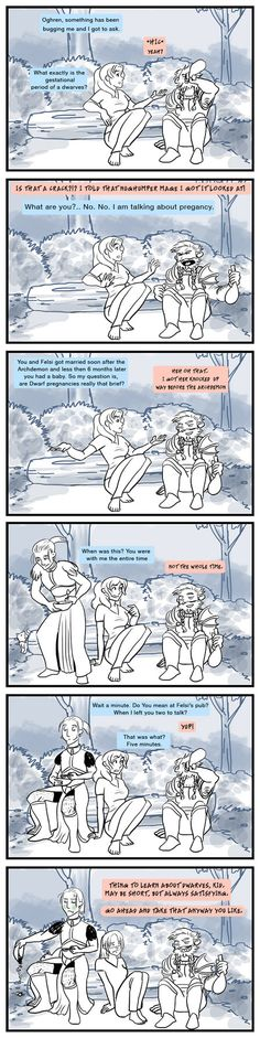 Sorry I asked. by chronicdoodler on deviantART...Absolutely love the look on Anders face.