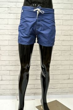 6636af6391a3 Costume SUNDEK Uomo Taglia 42 Mare Piscina Bagno Shorts Pantaloncino Corto  Blu
