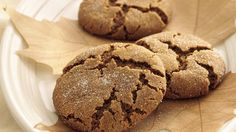 "Bite into classic soft, melt-in-your-mouth molasses cookies for a yummy bit of nostalgia. Love these ""adult cookies"". Cookie Desserts, Just Desserts, Dessert Recipes, Drop Cookie Recipes, Bakery Recipes, Holiday Baking, Christmas Baking, Christmas Holiday, Christmas Recipes"