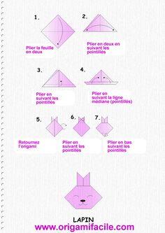 easy origami for kids koala face origami pinterest. Black Bedroom Furniture Sets. Home Design Ideas