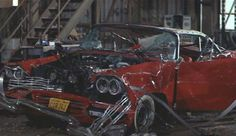 1958 Plymouth Fury, dont worry Christine will fix it....