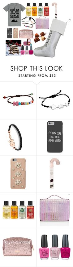 """""""Untitled #29"""" by lilipafer ❤ liked on Polyvore featuring TOUS, Disney, MICHAEL Michael Kors, The Body Shop, Victoria's Secret, OPI and Benefit"""