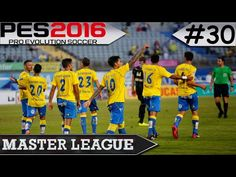 PES 2016 Master League #30 Las Palmas