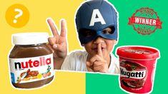 Taste CHALLENGE Nutella vs Norwegian made Nugatti