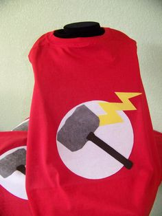Kids Thor Superhero Cape FREE SHIPPING by KidsSuperheroClub