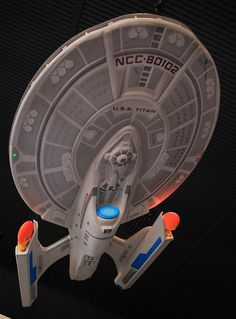 U.S.S. Titan NCC-80102 - Captain William T. Riker